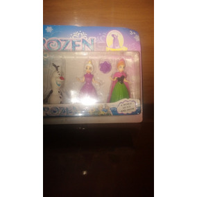 Bonecos Frozen Kit Com 6 Bonecos Frete Grátis