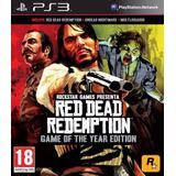 Red Dead Redemption Edicion Juego Del Año Ps3 Digital