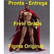 Original Figma 300 Rei Leônidas Pronta Entrega No Brasil