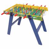 Mesa De Pebolim Infantil Futebol Maxi Com Pé - Xalingo