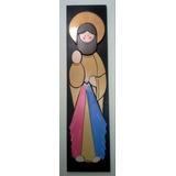 Virgenes Y Santos En Madera Mdf Jesus De La Misericordia