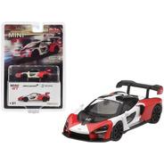 Mclaren Senna Red Rocket Orange White Mijo Mini Gt 1/64