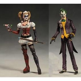 Dc Collectibles Harley Quinn Arkham (arlequina + Joker)