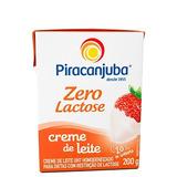 Creme De Leite Zero Lactose Piracanjuba 200g (25 Unidades)