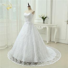 Vestido De Noiva Tomara Q Caia Longo Costas V