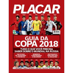 Guia Placar Copa Do Mundo Russia 2018 = Colecionador Novo!