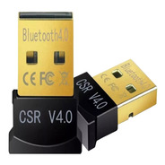 Adaptador Usb 4.0 Bluetooth P/ Pc Notebook - Factura A / B