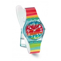 Reloj Swatch Color Sky Gs124| Envio Gratis | Oficial