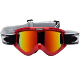 6b4a5e91b4656 Oculos Motocross Trilha Fx-4 Vermelho Lente Iridium Texx