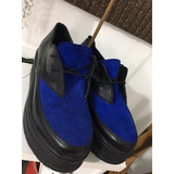 Zapato Ingles De Cuero