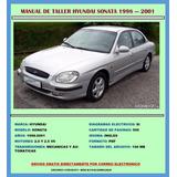 Manual De Taller Despiec Reparación Hyundai Sonata 1998-2001