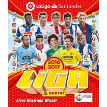 Album Liga Santander 2016 / 2017 + 226 Figurinhas Soltas