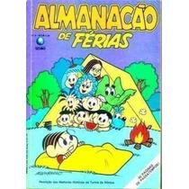 Almanacão De Férias Da Turma Da Mônica Nº 5