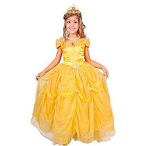 Disfraz Princesa Bella Fantasia Talla 4 Contenido Vestido