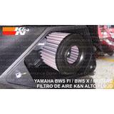 Filtro De Aire K&n Yamaha Bws Fi Filtro Kyn Bws X K N Aire