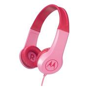 Audífono Motorola Niño Rosa  Squads 200 Revogames
