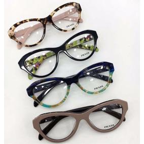 6bfdebbc079cf Armação Óculos Grau Prada Rosa Pr511 De Sol Oakley - Óculos Armações ...