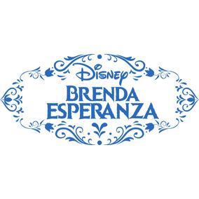 Logo Logotipo Frozen Disney Personalizado Imprimible Fiestas