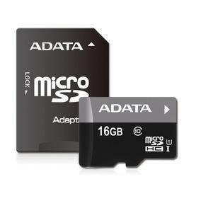Memoria Micro Sd Hc Adata 16gb Clase 10 Adaptador Sd