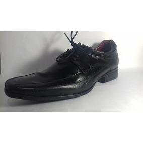 Sapato Social Em Couro Legítimo+frete Grátis +tamanho Grande