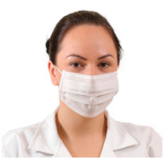 Barbijo Mascara Antibacterial 3 Filtros Prevencion Pack 10