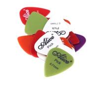 Palheta Violão Guitarra Cavaco Linha Alice 3pcs Mm Nylon