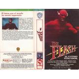 The Flash Vhs John Wesley Shipp Amanda Pays 1990 Castellano