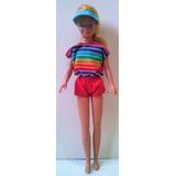 Antigua Muñeca Barbie Original Mattel Año 1967