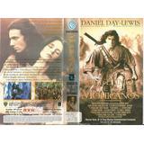El Ultimo De Los Mohicanos Vhs Daniel Day Lewis Cine Aventur