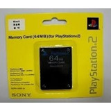 Memory Cards Playstation 2 64mb