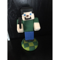 Minecraft Cumpleaños Adorno Torta