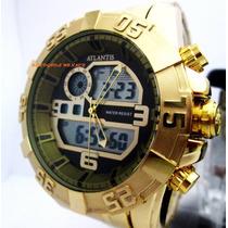 Relógio Atlantis Grand Reserve A3261 Original Com Caixa