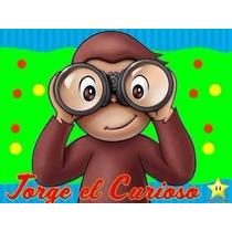 Kit Imprimible Candy Bar Jorge El Curioso Cumples Y Mas