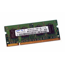 Memoria Laptop 1gb Ddr2 800mhz Compatible 667 Y 533 Sodim