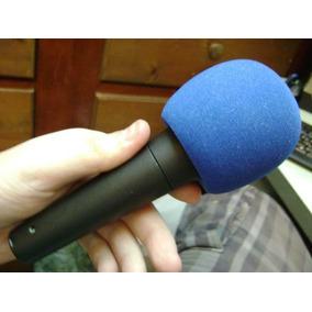 Filtro O Goma Espuma Antipop Para Microfono Dinamico