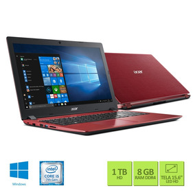 Notebook Acer Aspire 3 A315-51-50la Ci5 8gb 1tb Win10
