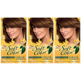 Soft Color Wella Kit 60 Rubio Oscuro X 3u Consulte Stock