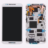 Modulo Moto X2 Display Y Touch (blanco) Caba