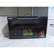 Neo Geo Gold X Limited Editon Novo A Pronta Entrega