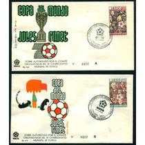 Mexico 1970 Sobres Mundial De Futbol Mexico 70 Sede Toluca