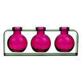 Jarrones Decorativos, Botellas De Vidrio De Color, Floreros