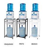 Suporte Para Verificador De Água Bebedouro Galão Com Cesto