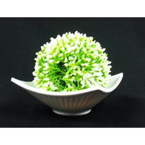 Arranjo Buchinho Artificial Colorido - Bonsai Pote Bola Flor
