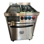 Cocina Industrial Familiar 2h + Plancha C/ Carlitero 58cm.