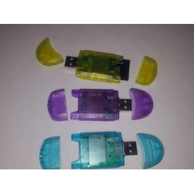 Lectores Adaptador Micro Sd - Usb Memoria Pendrive