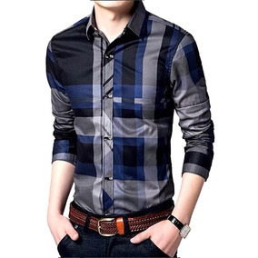 Camisa Womleys Slim Fit Talla L Casual De Vestir