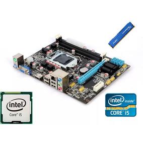 Kit Placa Mae H61 Intel Core I5 3470 3,6ghz(max) 8gb Ddr3