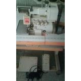 Maquina De Coser Industrial Overlock Con Engomadora Siruba