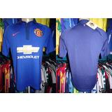 Manchester United 2014 Camisa Reserva Tamanho M.
