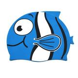De Silicona Natación Cap Dibujos Animados Peces... (blue)